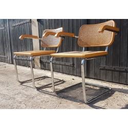 Table rectangulaire + 6 chaises avec 2 allonges