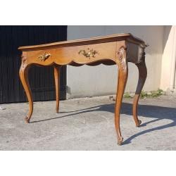 Fauteuil de bureau vintage à roulettes