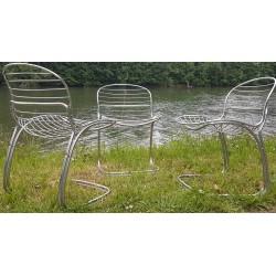 4 chaises Gastone Rinaldi 1970