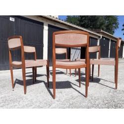 6 chaises Danoise 1960
