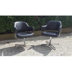 Paire de fauteuils 1970